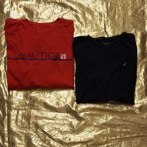 ⭐2/$22 Mens Bundle Nautica Tshirts XL